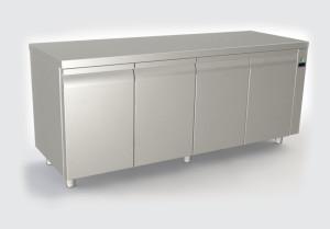 Ψυγείο πάγκος με 4 πόρτες remote