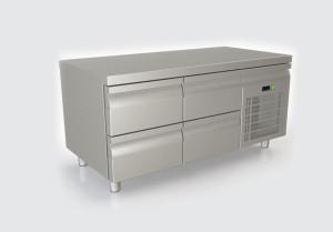 Ψυγείο πάγκος με 4 συρτάρια χαμηλό