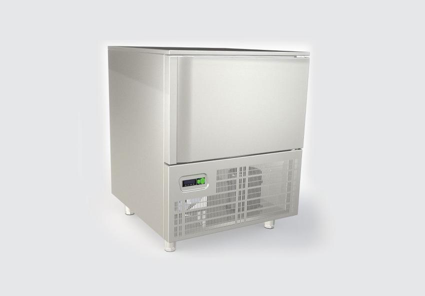Blast chiller CAREQ 5 θέσεων για 5 GN (ή 60Χ40)